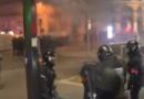 Wstrząsający finał demonstracji we Francji. Jest wielu rannych wśród policjantów [WIDEO]