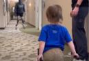 Leeper daje ważną lekcję chłopcu z protezą [WIDEO]